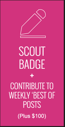 Reward: Scout Badge + Contribute to Weekly Best of Posts
