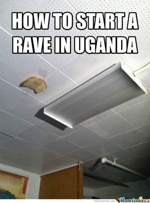 how to start a rave in Uganda