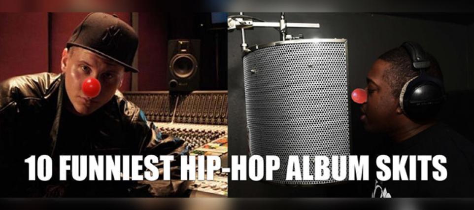 The Ten Funniest Hip-Hop Album Skits