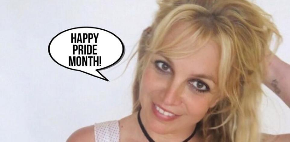 10 Twitter Moments | Britney Spears Celebrates Pride Month