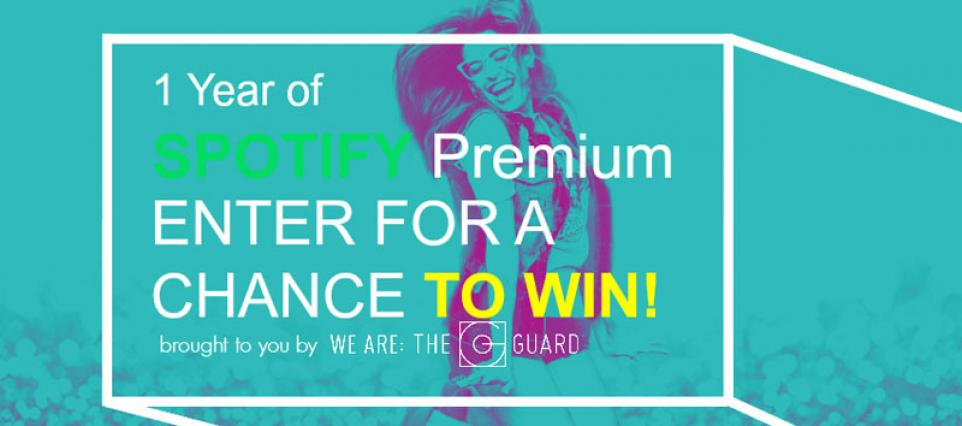 Win a Spotify Premium Subscription