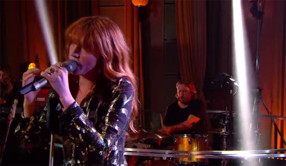 "Florence + The Machine ""Where Are Ü Now (Skrillex and Diplo Cover)"""