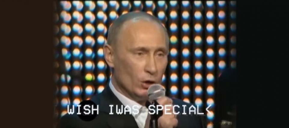 """Putin """"Creep"""" cover"""