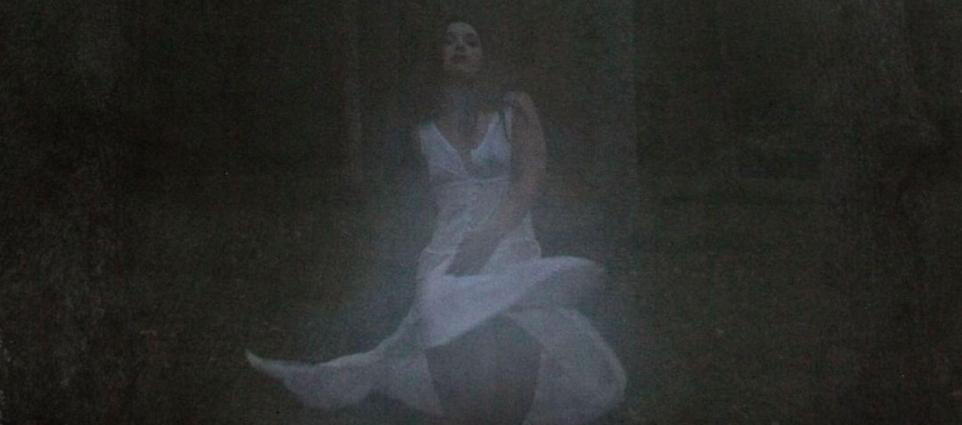 TYSM - Ghost White Dress