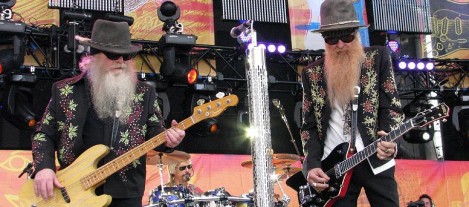 ZZ Top Donate Beards To Charity